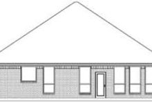 Traditional Exterior - Rear Elevation Plan #84-178