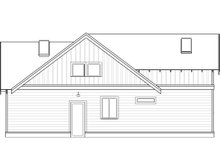 Architectural House Design - Craftsman Exterior - Other Elevation Plan #895-97