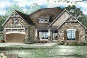 Craftsman Style House Plan - 4 Beds 2 Baths 2083 Sq/Ft Plan #17-2348