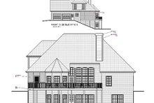 Dream House Plan - European Exterior - Rear Elevation Plan #56-178