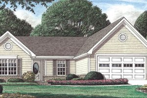 Traditional Exterior - Front Elevation Plan #34-128