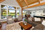 Craftsman Style House Plan - 3 Beds 2.5 Baths 2297 Sq/Ft Plan #1070-15 Interior - Family Room