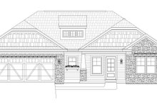 Craftsman Exterior - Front Elevation Plan #932-171