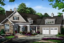 Architectural House Design - Ranch Exterior - Front Elevation Plan #929-1007