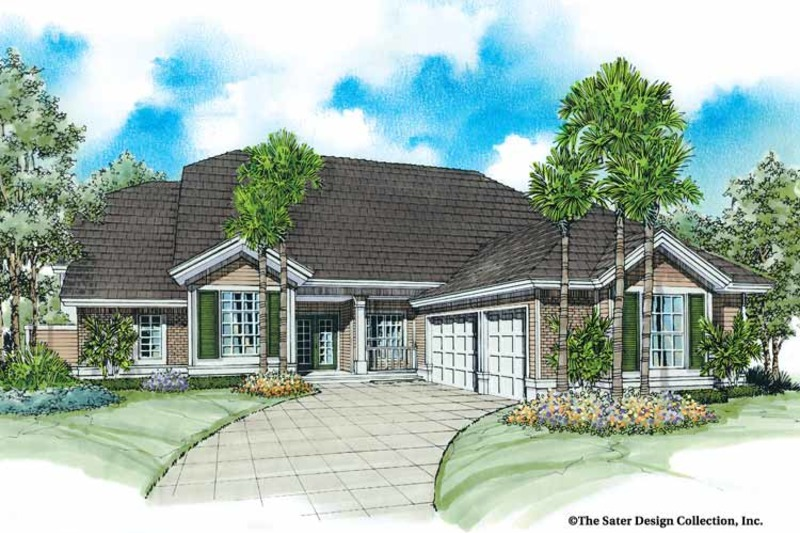 Country Exterior - Front Elevation Plan #930-26 - Houseplans.com