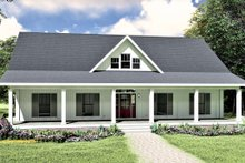 Traditional Exterior - Front Elevation Plan #44-236