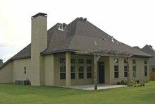 House Design - Contemporary Exterior - Rear Elevation Plan #11-273