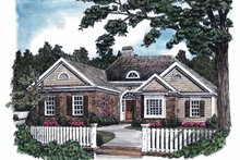 House Plan Design - Country Exterior - Front Elevation Plan #927-581