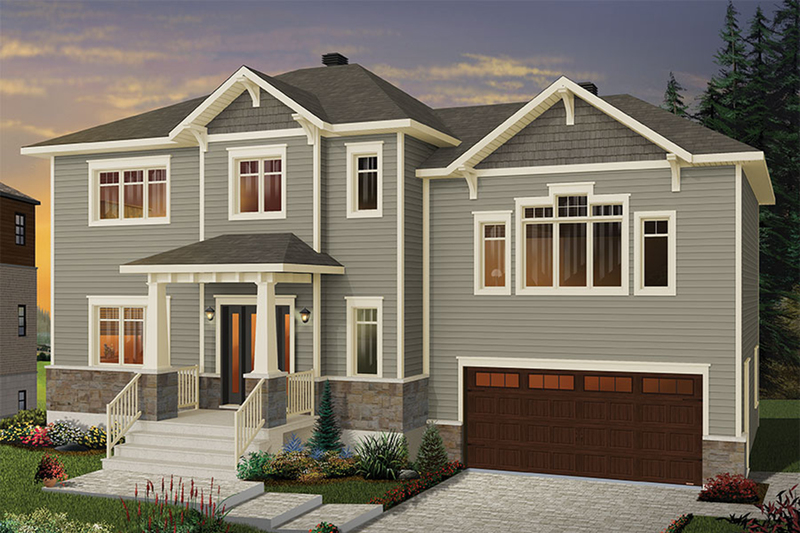 Traditional Exterior - Front Elevation Plan #23-2626