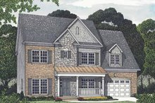 Traditional Exterior - Front Elevation Plan #453-534