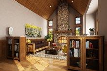 Craftsman Interior - Family Room Plan #942-52