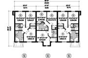 Traditional Style House Plan - 14 Beds 6 Baths 6338 Sq/Ft Plan #25-4613 Floor Plan - Upper Floor Plan