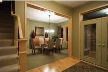 Prairie Interior - Dining Room Plan #51-1126