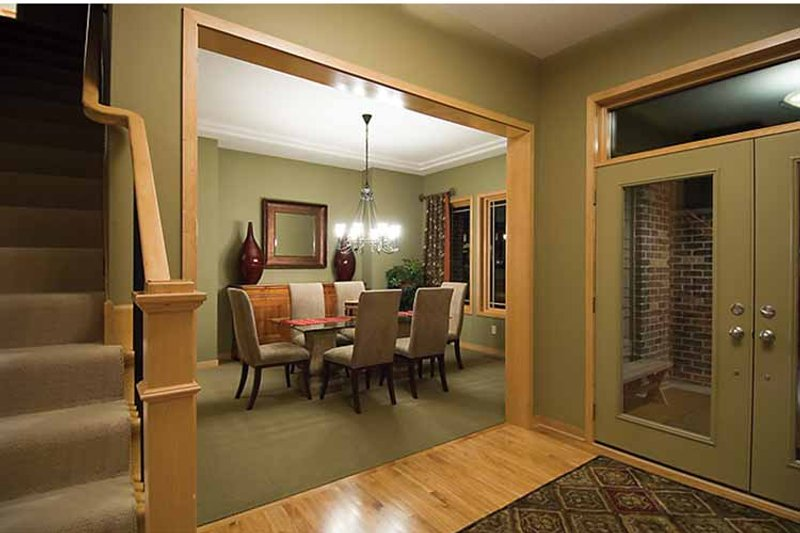 Prairie Interior - Dining Room Plan #51-1126 - Houseplans.com