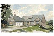 House Plan Design - Craftsman Exterior - Front Elevation Plan #928-87