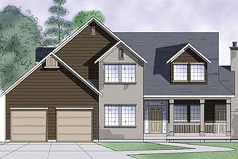 House Plan Design - Country Exterior - Front Elevation Plan #945-34
