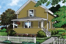 House Plan Design - Country Exterior - Front Elevation Plan #417-543