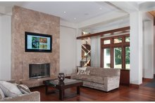 Architectural House Design - Traditional Interior - Family Room Plan #928-247