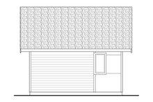 Modern Exterior - Rear Elevation Plan #124-1199
