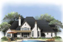 Architectural House Design - European Exterior - Rear Elevation Plan #929-813