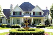 European Style House Plan - 4 Beds 5.5 Baths 5157 Sq/Ft Plan #928-65 Exterior - Front Elevation