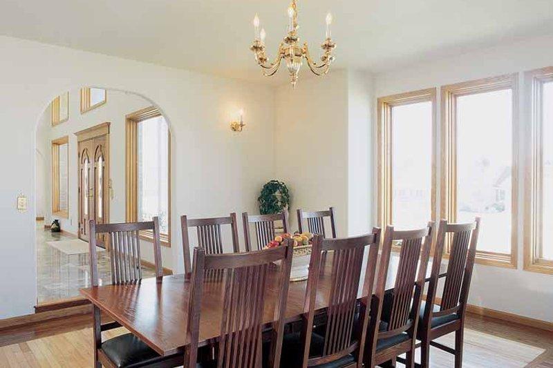 Contemporary Interior - Dining Room Plan #72-872 - Houseplans.com