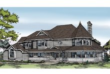 Home Plan - Victorian Exterior - Front Elevation Plan #314-216