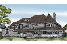 Dream House Plan - Victorian Exterior - Front Elevation Plan #314-216