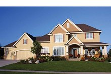 House Plan Design - Country Exterior - Front Elevation Plan #51-1117