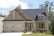 Craftsman Style House Plan - 3 Beds 2.5 Baths 2028 Sq/Ft Plan #419-158 Exterior - Front Elevation
