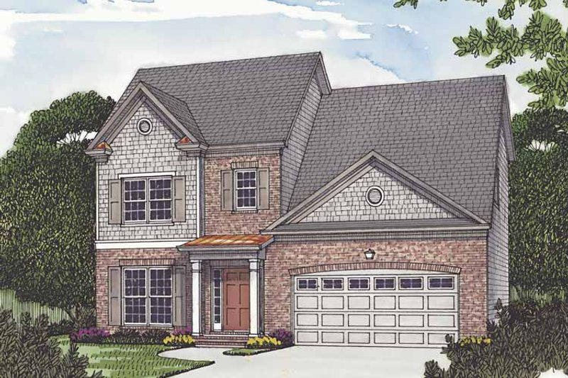 Traditional Exterior - Front Elevation Plan #453-502