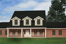 House Plan Design - Colonial Exterior - Front Elevation Plan #1061-2