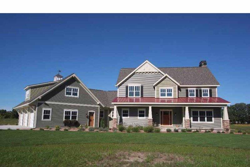 Craftsman Exterior - Front Elevation Plan #928-39 - Houseplans.com