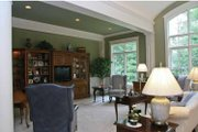Tudor Style House Plan - 4 Beds 3.5 Baths 4940 Sq/Ft Plan #928-27 Interior - Family Room