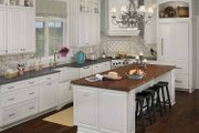 Country Style House Plan - 4 Beds 3.5 Baths 3083 Sq/Ft Plan #928-98 Interior - Kitchen