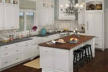 Country Interior - Kitchen Plan #928-98