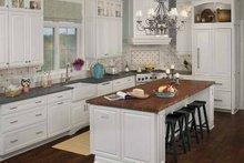 Architectural House Design - Country Interior - Kitchen Plan #928-98