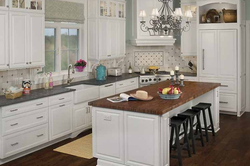 Country Interior - Kitchen Plan #928-98 - Houseplans.com