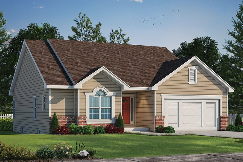 Dream House Plan - Traditional Exterior - Front Elevation Plan #20-1244