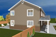 Home Plan - Traditional Exterior - Other Elevation Plan #1060-17