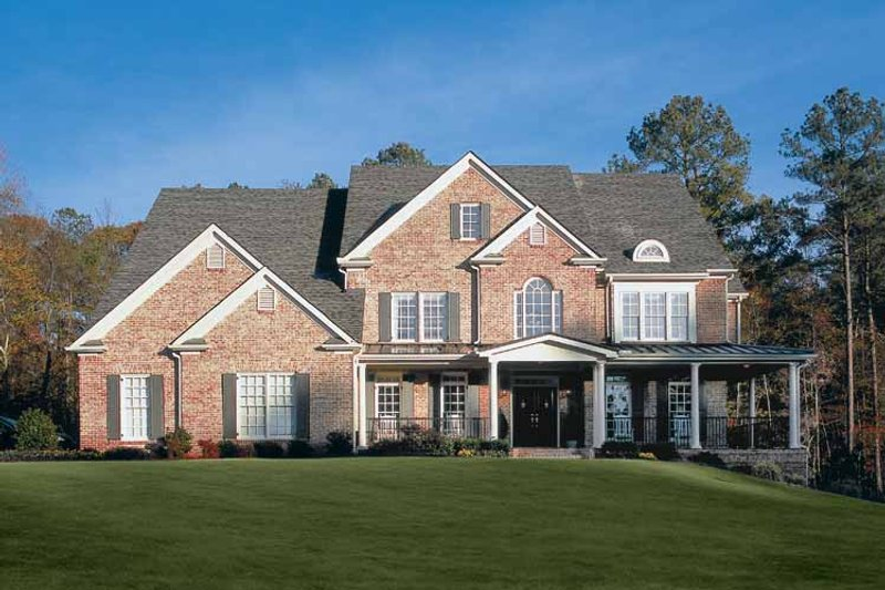 House Plan Design - Colonial Exterior - Front Elevation Plan #927-174
