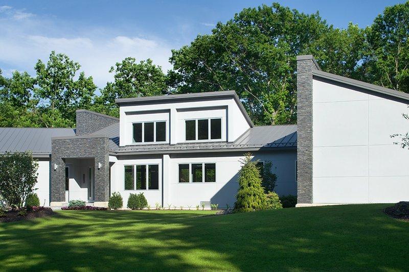 Contemporary Exterior - Front Elevation Plan #928-255 - Houseplans.com