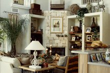 Mediterranean Interior - Family Room Plan #417-796