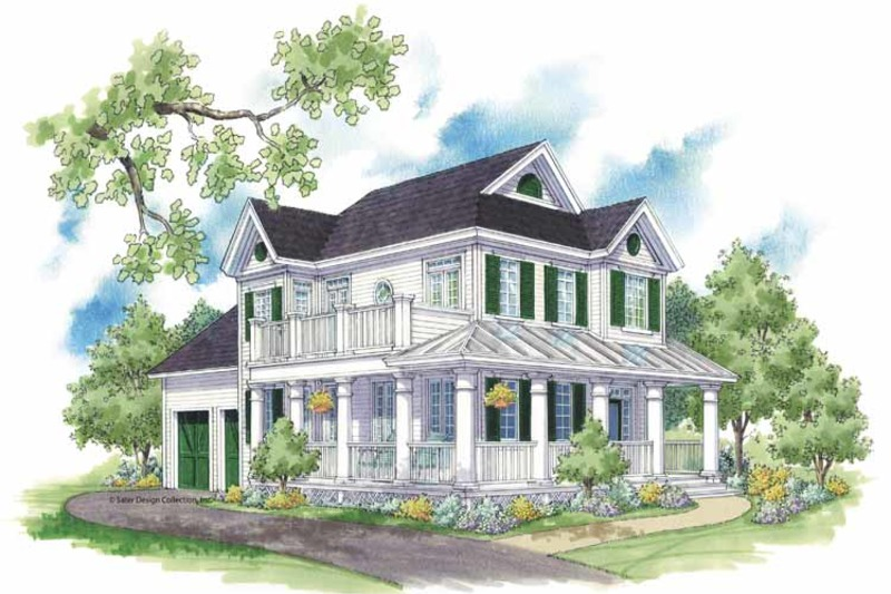 Country Exterior - Front Elevation Plan #930-394 - Houseplans.com