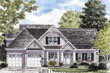 House Plan Design - Craftsman Exterior - Front Elevation Plan #316-272