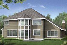 Craftsman Exterior - Rear Elevation Plan #132-389