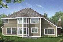 Architectural House Design - Craftsman Exterior - Rear Elevation Plan #132-389