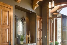Home Plan - Foyer - 5300 square foot Craftsman home
