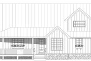 Country Style House Plan - 3 Beds 3.5 Baths 2300 Sq/Ft Plan #932-59 Exterior - Front Elevation
