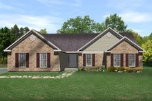 Home Plan - Ranch Exterior - Front Elevation Plan #22-457